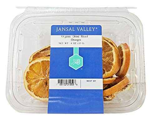 - Jansal Valley All Natural Dried Sliced Oranges, 4 Ounce