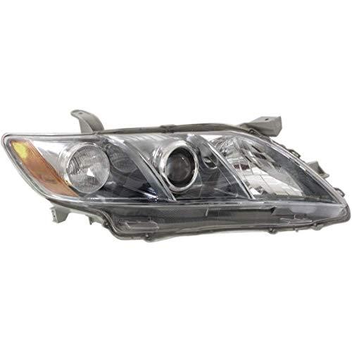 Aftermarket Fits 07-09 Toyota Camry Hybrid Right Passenger Headlight Assembly USA Built Models