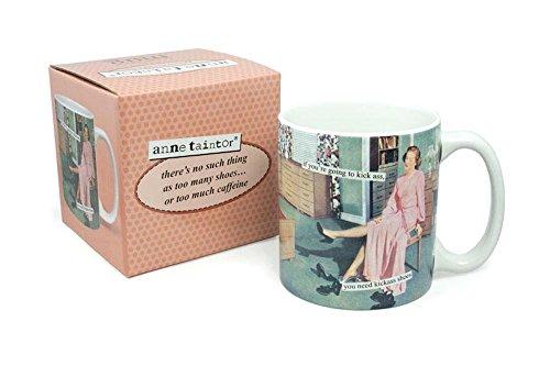 Anne Taintor Coffee Mug - You Need Kickass Shoes