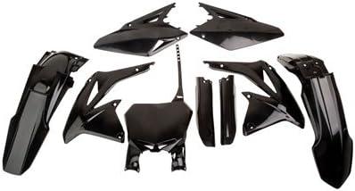 Cycra Powerflow Complete Body Kit Black for Suzuki RMZ450 2008-2017
