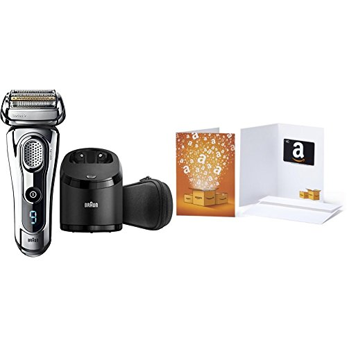 Price comparison product image Braun Series 9 9290CC Wet & Dry Electric Shaver for Men with Clean & Charge System with $40 Gift Card