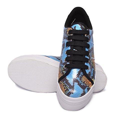 EPLAY Giallo Multicolor JEFFREY Sneaker CAMPBELL ZOMG Blu HOxO5wqRU