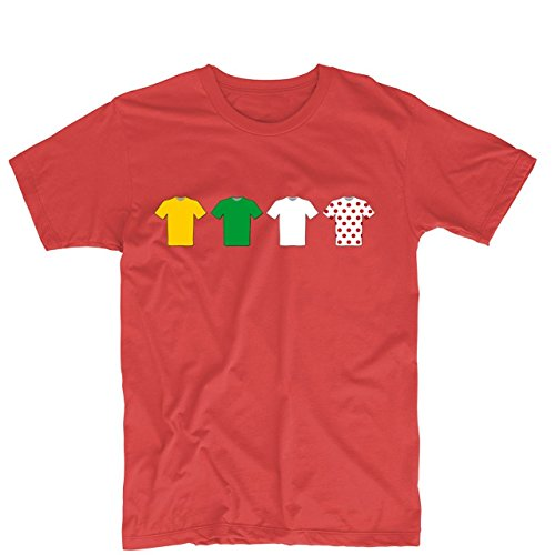 Tour de France Jerseys Mens & Womens Custom T Shirt Printing Tee