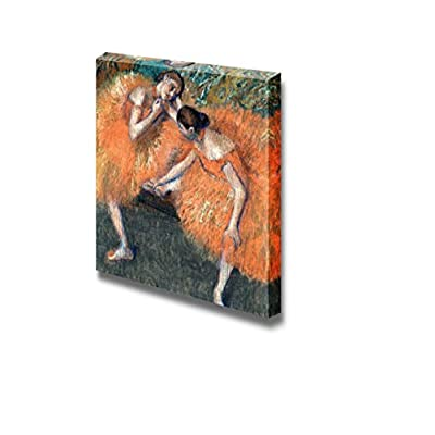 Two Dancers by Edgar Degas - Canvas Print Wall Art Famous Painting Reproduction - 16