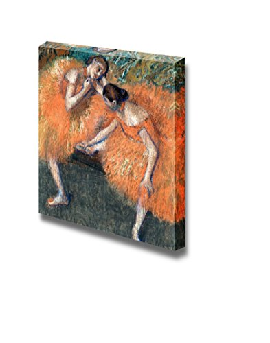 Two Dancers by Edgar Degas - Canvas Print Wall Art Famous Painting Reproduction - 24