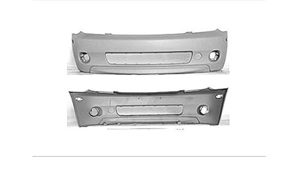 Primed Front Bumper Cover Plastic For Scion xA 04-05