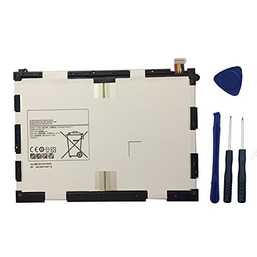YNYNEW replacement Tablet battery EB-BT550ABE for Samsung Galaxy Tab A 9.7 T550 T555 T555C P550 P555C P555N EB-BT550ABA AA1G511HS/7-B EB-BT550 With Free Tools