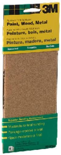 3M 9019 General Purpose Sandpaper Sheets, 3-2/3-Inch by 9-Inch, Assorted Grit 4122thZcSkL