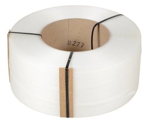 Vestil-ST-12-9X8-NA-Clear-Strapping-Polypropylene-9900-Length-12-Width