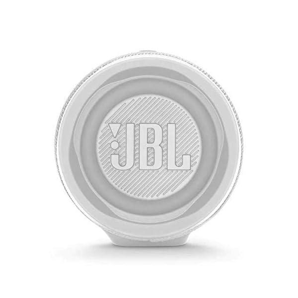 JBL Charge 4 - Enceinte Bluetooth portable avec USB - Robuste et étanche : pour piscine et plage - Son puissant - Autonomie 20 hrs - Blanc 5