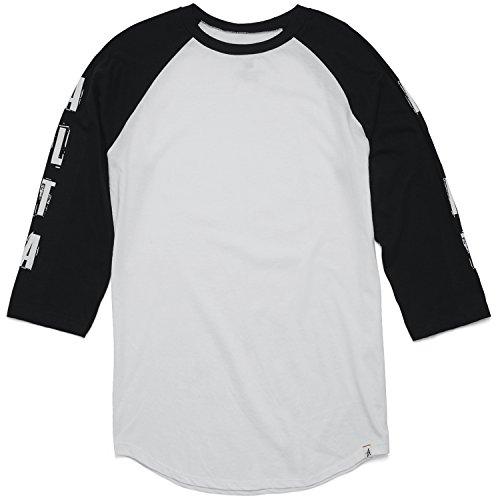 Altamont Tee (ALTAMONT T-Shirt Ransom Sleeve Raglan Black Size L)