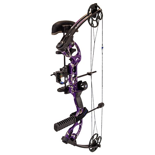Quest Radical Right Hand Package, AP Purple, 17.5-30-Inch/40-Pound
