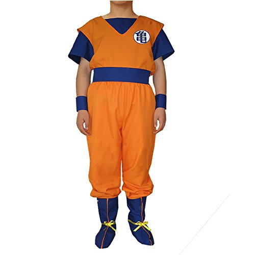 [CG Costume Men's Dragon Ball Son Goku Cosplay Costume XXLarge] (Bulma Costume)