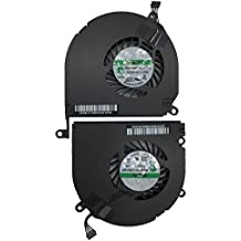 """Left and Right Side CPU Cooling Fan Assembly For Apple MacBook Pro 15"""" A1286 (2008, 2009, 2010, 2011, 2012)"""