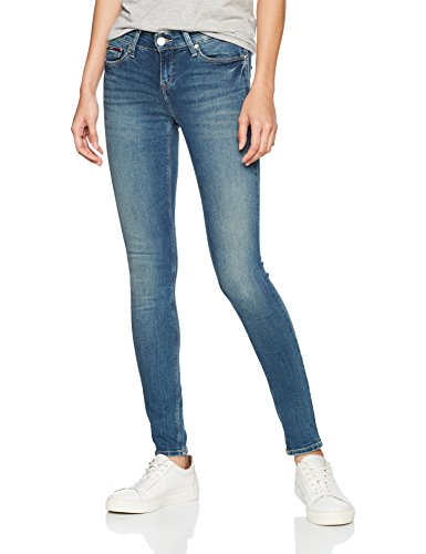 Blu Donna jeans Blue Rise Tommy Rbst Nora Stretch Mid royal Skinny 911 0gnpAq