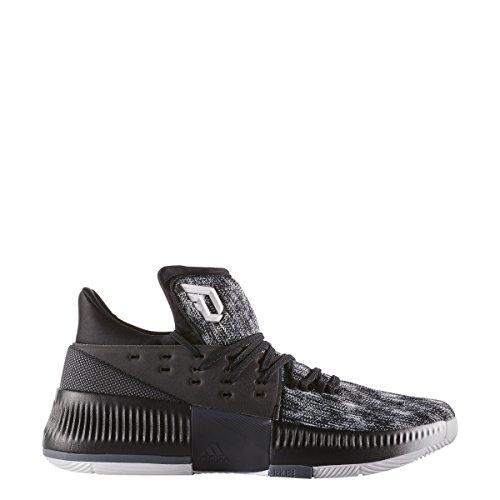 Zapatillas Adidas Dame 3 Basketball White-core Black-onix
