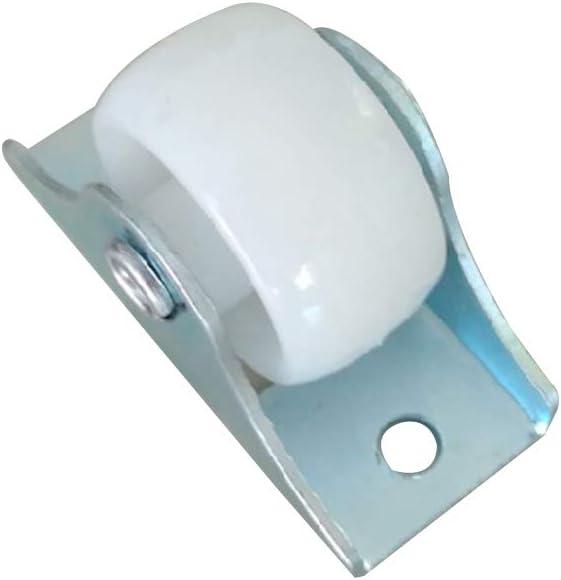 Ruedas de fijaci/ón para Muebles 10 Unidades yuaierchen Color Blanco