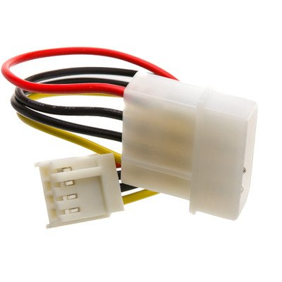 6 inch, 4 Pin Molex to Floppy, Power Cable ( 30 PACK ) BY NETCNA by NETCNA