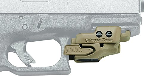 Crimson Trace CMR-201 Rail Master Universal Red Laser Sight Coyote Tan