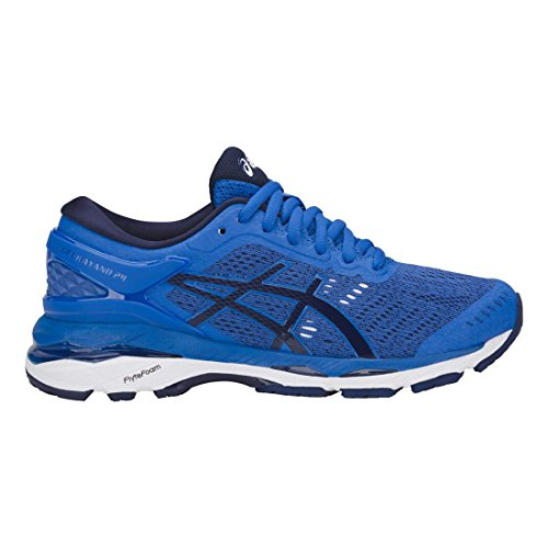 ASICS Kids Gel-Kayano 24, Victoria Blue/White, 7Y by ASICS