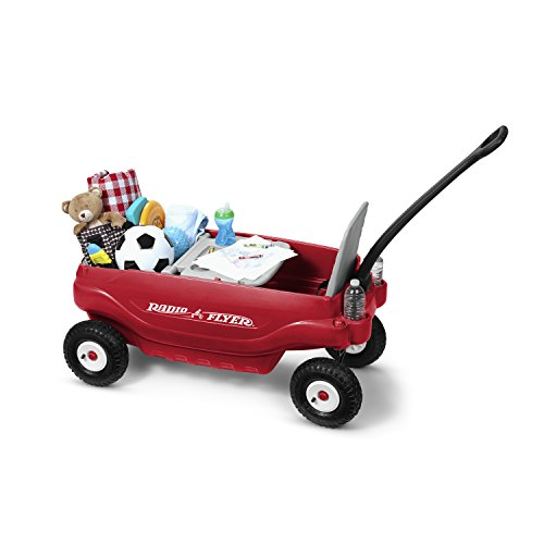 Radio Flyer Deluxe All Terrain Family Wagon Ride On Red
