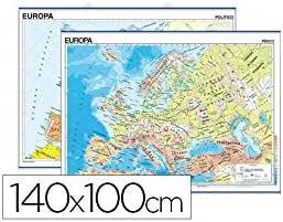 Edigol 6102.8 - Mapa mural: EDIGOL: Amazon.es: Oficina y papelería