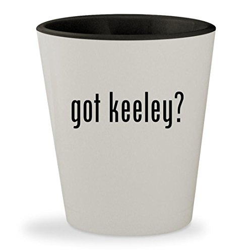 Boss Bd2 Keeley (got keeley? - White Outer & Black Inner Ceramic 1.5oz Shot Glass)