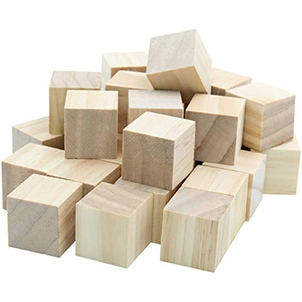 Details About 12pc Blank Real Wood Natural Alphabet Blocks For Crafts Painting Burning And X
