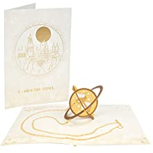 Harry Potter Time Turner Pop-Up Birthday Greeting Card - If I had a Time-Turner, We Could Celebrate Over and Over - Handcrafted Pop Up Card - 5 x 7
