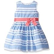 Carter's Baby Girls' Dress 120g133, Blue, 3M
