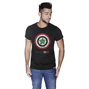 Creo Captain Syria T-Shirt For Men - M, Black