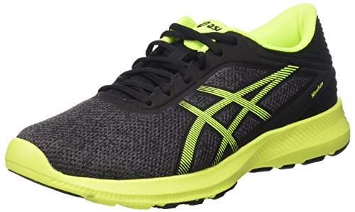 Black Grigio Steel Dark Asics Safety Homme Gymnastique Nitrofuze Yellow tvvqA8