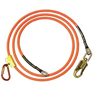 "Climb Right 5/8"" X 12' Wire Core Flipline System"