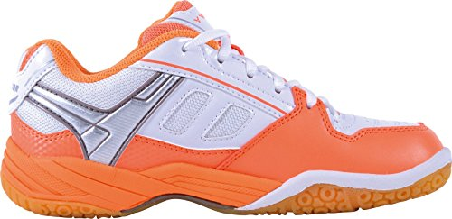 Women's Badminton Orange White Victor Orange Shoes AvTqdAYw