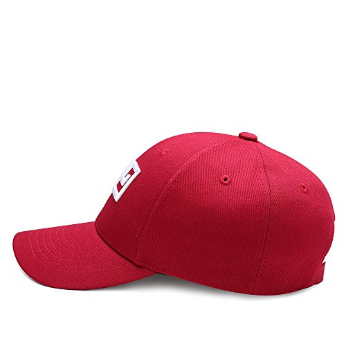 capO Gorra única para Rosso Rojo Talla Hombre Baseball de Béisbol PfSfqT