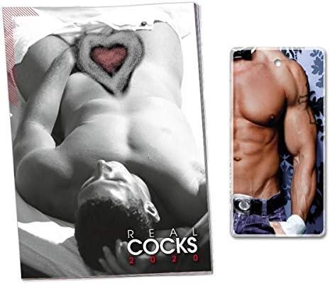 Pin Up Kalender 2020 Real Cock & Duftbaum Chippendales Ocean Sexy Men