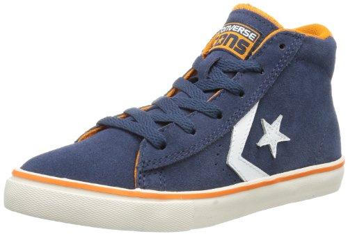 Converse Pro Lea Vul Mid - Zapatillas de Deporte de ante Infantil azul - Marine/orange