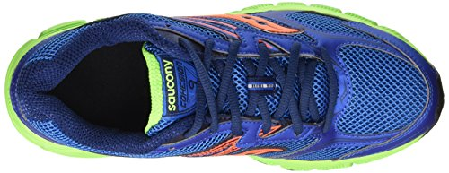 Saucony Grid Cohesion 9 - Entrenamiento y correr Hombre Multicolore (Royal/Citron/Oran Pa)