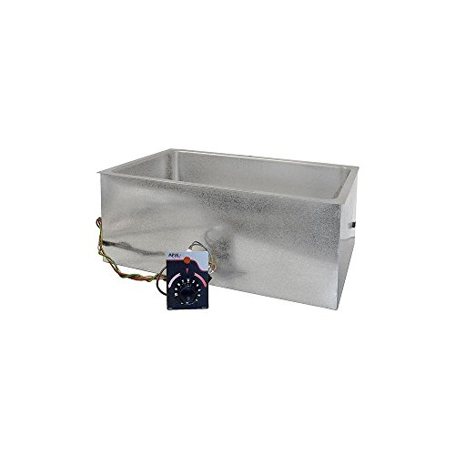 APW Wyott BM-80D 208V / 900W Hot Food Well Unit with Drain