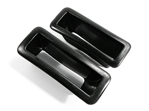 Nissan Skyline N1 - For Nissan Skyline R33 GTR GTS Nism Style N1 FRP Fiber Glass Front Bumper Side Vents Air Ducts Insert 2pcs
