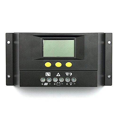 30A Battery PWM Solar Panel Charge Controller Regulator 12-24V