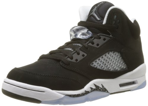 Air Jordan 5 Retro (GS) Oreo (Black/Cool Grey-White) Size 5.5Y by NIKE