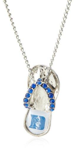 Durham Crystal - aminco NCAA Duke Blue Devils Crystal Flip Flop Necklace