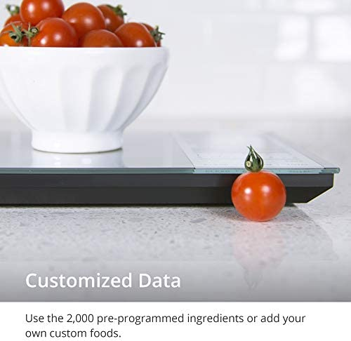 GreaterGoods Nourish Digital Kitchen Food Scale, Not-Connected, Digital Food Code App Download Included (New Backlit) 5