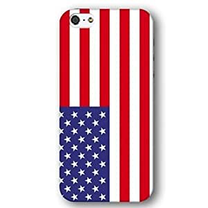 United States Of America USA Flag For Iphone 6Plus 5.5Inch Case Cover lim Phone Case