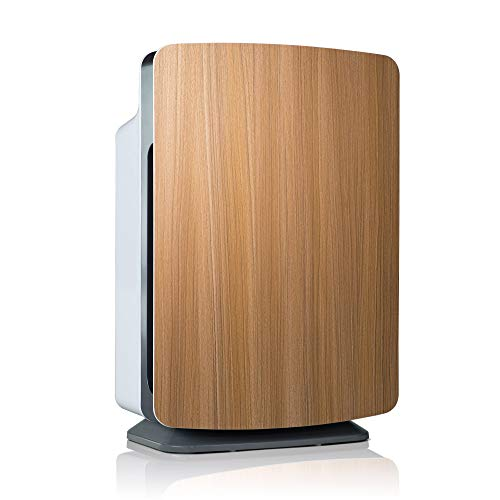 Alen BreatheSmart Customizable Air Purifier with HEPA-Silver Filter to Remove Allergies, Mold & Bacteria (Oak, Silver, 1-Pack)