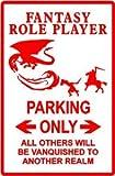 FANTASY RP PARKING * sign dungeon dragon