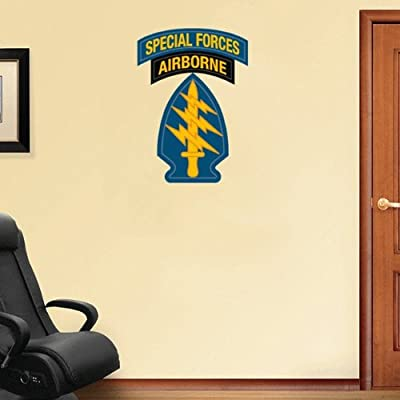 """US Army Special Forces Wall Decal Sticker 18"""" x 25"""""""