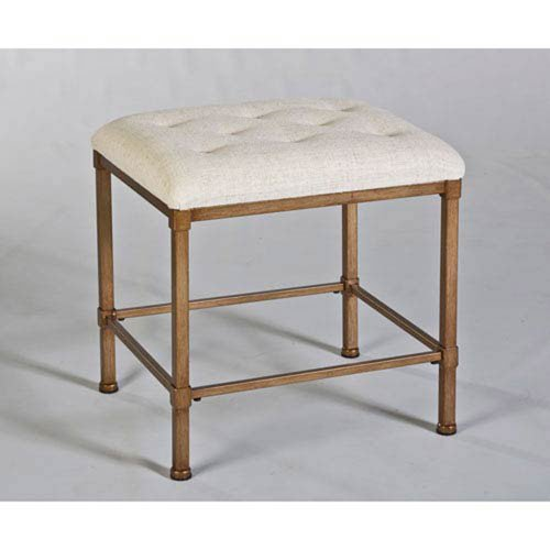 251 First Whittier Bronze Backless Vanity Stool by 251 First