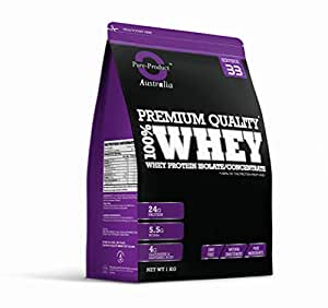 Pure Product Australia 100% Whey Protein Isolate & Concentrate CHOCOLATE 1kg